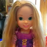 Disney Toys | Final Offerrapunzel Tangledprincess Doll | Color: Tan | Size: 14 Doll