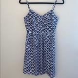 J. Crew Dresses | J Crew Babydoll Cami Dress | Color: Blue/White | Size: 0