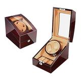 AMAFS Watch Winder for Automatic Watches Box, The Watches Storage Box Wheels Watch Winder for Automatic Watches Beautiful Home