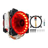 Computer Cooler 4PIN System Directly Contact CPU Cooler Master Homppipe Freezing Tower CPU Cool RGB Double Fan and Fan