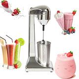 500ml Electric Milkshake Maker Machine 100W Household Commercial Juice Fruit Ice Mixer Single Head Milk Tea Drink Mixer Blenders 110V 23000RPM