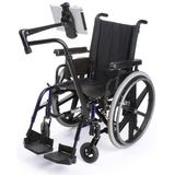 iPad Wheelchair Mount with Adjustable and Articulating Arm