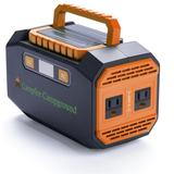 Portable Rechargeable Power Supply, Lithium-ion Battery, Custom Print