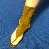 Anthropologie Shoes | Cerruti Arte Sz 7 Brown Suede Festival Shoe Boot | Color: Brown/Tan | Size: 7