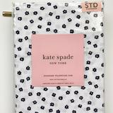 Kate Spade Bedding | Kate Spade Standard Pillowcases Flowers Navy Blue | Color: Blue/White | Size: Os
