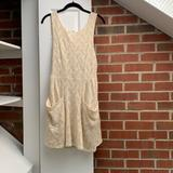 Free People Dresses | Free People Lace Eggshell Dress | Color: Cream/White | Size: M
