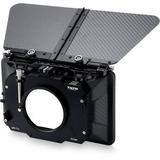 "Tilta 3-Stage 4 x 5.65"" Carbon Fiber Clip-On Matte Box (85mm Back) MB-T12-M85"