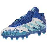 adidas Men's Freak Carbon Cleats Football Shoe, Team Royal Blue/Light Aqua/Team Royal Blue, 9.5