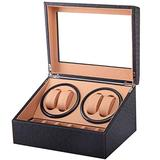 CCAN Double Automatic Box Watches 4+ 6 Best Watch Storage Case for Sale Quiet Motor Multiple Rotation Men and Women Watch Jewelry Large Gift Interesting Life