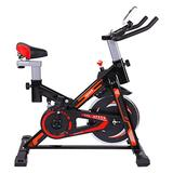 Exercise Bikes,Professional Indoor Cycling Bike Stationary Bike,Fitness Bike,Exercise Bike Home Gym Exercise Equipment with Shock Absorption System,Womens Cardio Machines for Home Use (Black)
