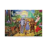 Wizard of Oz Merch 500 Pieces Puzzle Fairy Tale Story Merch Wall Hanging Jigsaw for Collection Toys Fantasy Film Character Dorothy Gale Tin Woodman Unique Gifts for Kids Adults Room Decor
