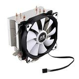 Computer Cooler CPU Cool Master 4 Pure Copper Tube Freezing Tower Cooling System CPU Cooling Fan and Fan (Blade Color : One Fan)