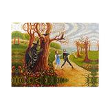 Dorothy Gale Wizard of Oz Wooden Puzzle Fantasy Film Merch 500 Pieces No Frame Jigsaw for Wall Hanging Magic Wizard of Oz Character Cowardly Lion Poster for Kids Adults Birthday Gifts