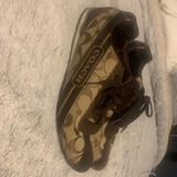 Coach Shoes | Coach, Casual Womens Tennis Shoes | Color: Brown/Gold | Size: 7