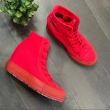 Converse Shoes | Converse Ctas Platform Plus Diva Wedge Sneaker | Color: Pink/Red | Size: 6