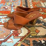 Kate Spade Shoes   Kate Spade Iberia Mule Heel In Luggage Size 10   Color: Brown/Gold   Size: 10