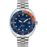 Automatic Archive Devil Diver Stainless Steel Bracelet Watch 44mm - Metallic - Bulova Watches