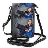 Alyssa Carson Mars Astronaut Crossbody Bags for Women,Crossbody Bag, Small Crossbody Bag PU Leather with Card Slots Lightweight