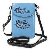Ca-stlevania Crossbody Bags for Women,Crossbody Bag, Small Crossbody Bag PU Leather with Card Slots Lightweight