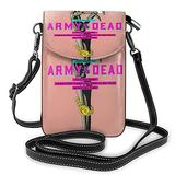 Ar_my of The D_ead Crossbody Bags for Women,Crossbody Bag, Small Crossbody Bag PU Leather with Card Slots Lightweight