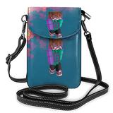 Karl Jacobs Crossbody Bags for Women,Crossbody Bag, Small Crossbody Bag PU Leather with Card Slots Lightweight