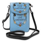Peace Love Crossbody Bags for Women,Crossbody Bag, Small Crossbody Bag PU Leather with Card Slots Lightweight