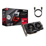 ASRock Phantom Gaming D Radeon RX 580 DirectX 12 OC Graphics Card, 8GB 256-Bit GDDR5 PCI Express 3.0 x16 HDCP Video Card w/ Tigology HDMI Cable (Renewed)