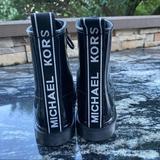 Michael Kors Shoes   Michael Kors Black Patent Leather Boots   Color: Black/White   Size: 7