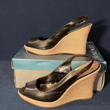 Nine West Shoes   Nine West Zimmy Platform Wedges   Color: Black   Size: 8