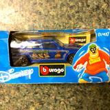 Disney Toys | Burago Italian Disney Die Cast Metal Car | Color: Blue | Size: Osb