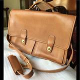 Coach Bags   Mens Coach Messenger Bag Briefcase Attach Case   Color: Tan   Size: Os