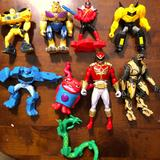 Disney Toys | Assorted Action Figure Lot Of 12 Pieces | Color: Black/Red | Size: Osb