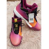 Adidas Shoes | Adidas Tmac Milennium 2 Basketball M-8.5w-9.5 | Color: Gold/Pink | Size: 9.5