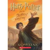 Harry Potter and the Deathly Hallows by J.K. Rowling Book, Multicolor