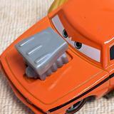 Disney Toys   Disneys Cars Snot Rod Orange Mattel Diecast Car   Color: Orange/Yellow   Size: 2.5in