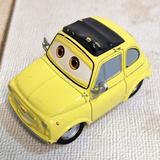 Disney Toys | Disneys Cars Luigi Yellow Mini Car Diecast Metal | Color: Black/Yellow | Size: 2.5in