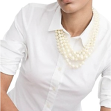 J. Crew Jewelry   J. Crew Layered Multi Strand Pearl Necklace   Color: Gold/White   Size: Os