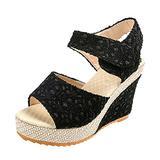 Women's Platform Slingback Open Toe Comfy High Heel Sandals Slippers High Heels Orthotic Platform Wedge Girls Beach Shoes Flip Flop Summer Sandal for Women