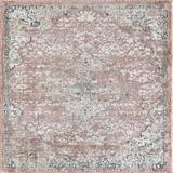 Kelly Clarkson Home Sasha Pink/Ivory Area Rug Polypropylene in Black/Brown/Green, Size 96.0 H x 96.0 W x 0.5 D in   Wayfair