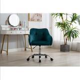 Mercer41 Swivel Office Chair For Living Room/bed Room, Modern Leisure Office Chair,sofa Chair, Office Chair(pink) Upholstered in Green/Blue/Black