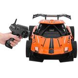Home-table RC Drift Car,1:16 Remote Control Car Toy Alloy High Speeds Wireless Simulation 360° Rotating Electronic RC Vehicle for Boys Orange and Green(Orange)