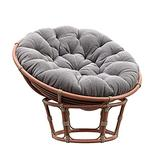 ZJHTK Egg Hammock Swing Chair Seat Cushions Wicker Rattan Hanging Basket Replacement Cushion Lazy Mat Outdoor Indoor for Lounge Patio, Only Cushion