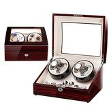 AMAFS Automatic Wristwatches Winder, Mens Watch Organizer Jewelry Display Case, Collection Treasure Box Storage for Up to 10 Jewellery Bracelet Beautiful Home