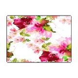 Pamime Multicolor Area Rugs 3X5 Feet Living Room Area Rug Summer Pattern Watercolor Flowers Handmade Peony White Background Area Rugs for Kitchen Dorm Area Rug Cute Area Rug