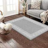 """Pauwer Area Rug Runner 32""""x48"""" Non Slip Hallways Runner Washable Kitchen Rugs Distressed Non-Shedding Stain Resistant Accent Throw Rug for Door Mat Kitchen Laundry Room Entryway Hallways"""