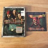 Disney Other | Pirates Of Caribbean Dead Man'S Chest Dvd 3-Disc | Color: black | Size: Os
