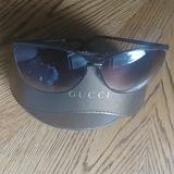 Gucci Accessories   Gucci Sunglasses And Gucci Glasses Case   Color: Brown   Size: Os
