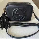 Gucci Bags   Gucci Black Leather Soho Disco Crossbody Bag Black   Color: Black   Size: Os