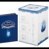 Disney Other | Disney Cinderella 3-Movie Jewelry Box Collection | Color: black | Size: 8 X 5.25 X 5.25