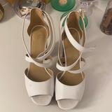Michael Kors Shoes   Awesome Michael Kors Platform Heels Size 7.5   Color: Brown/White   Size: 7.5